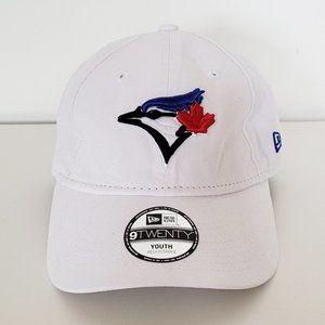 🆕New Era - Blue Jays White Cap - Youth